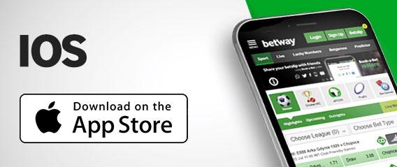 Betway para iOS app